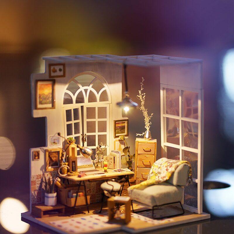 soho time diy miniature house kit robotime 10