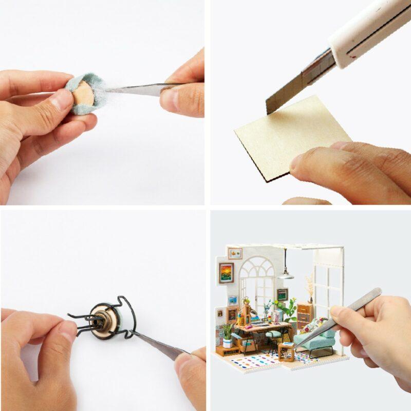 soho time diy miniature house kit robotime 11