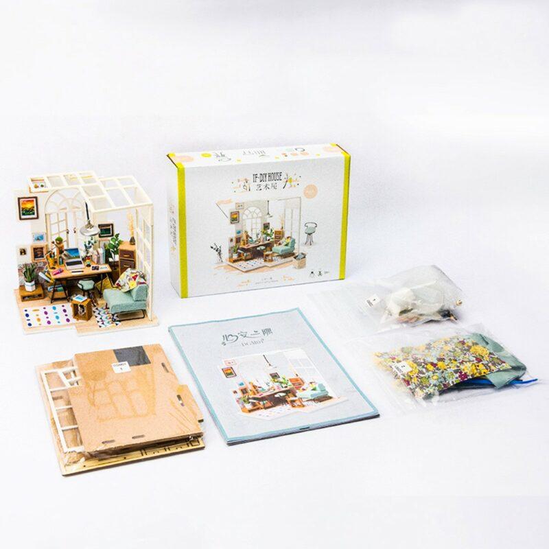soho time diy miniature house kit robotime 2