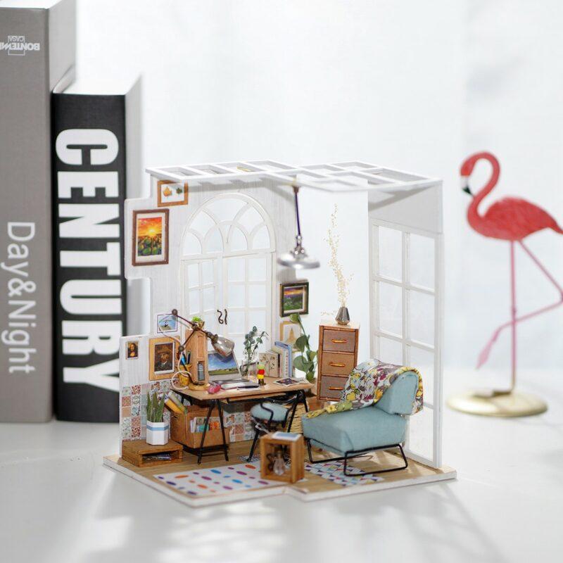 soho time diy miniature house kit robotime 3