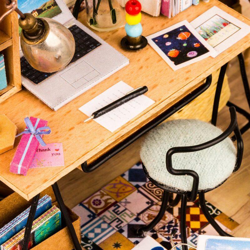 soho time diy miniature house kit robotime 7