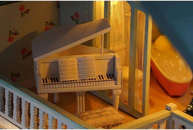 ssemble diy doll house toy wooden minia description 39