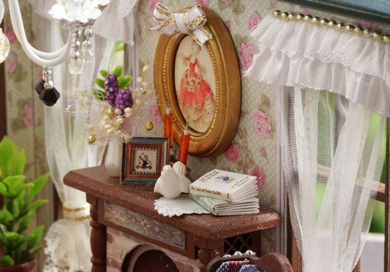 urniture diy doll house wooden miniatur description 23