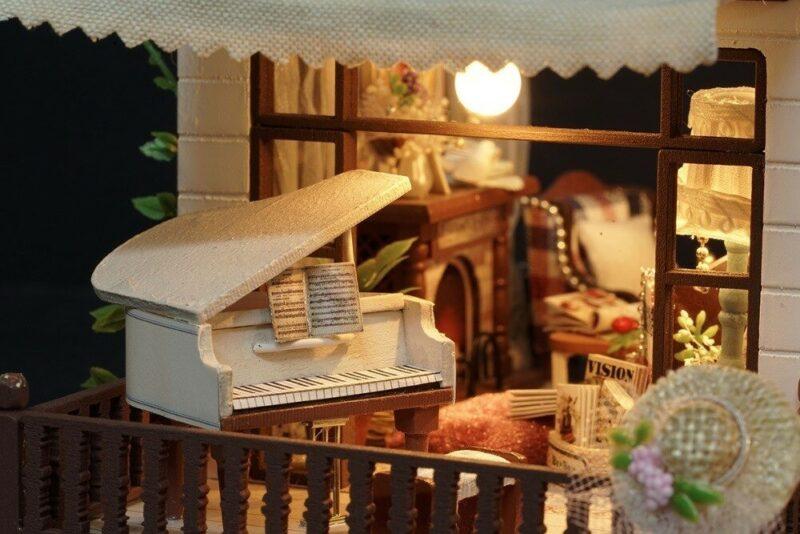 urniture diy doll house wooden miniatur description 25