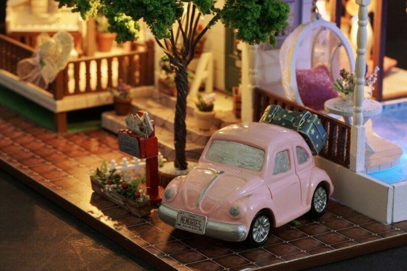 urniture diy doll house wooden miniatur description 28