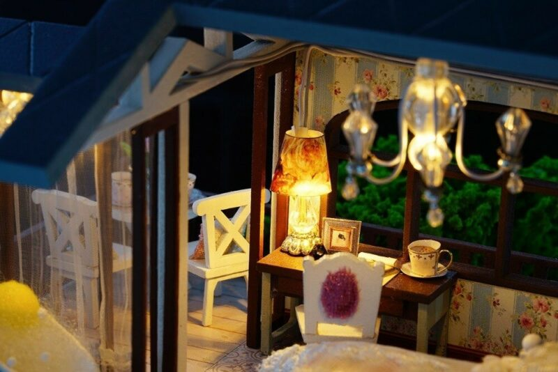 urniture diy doll house wooden miniatur description 35