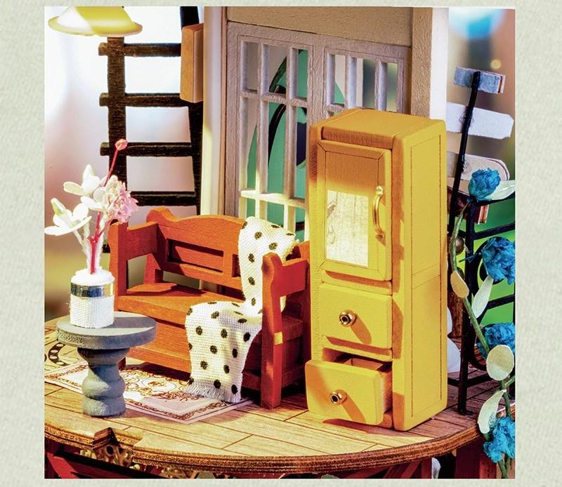 robotime rolife diy dollhouse happy corn description 4